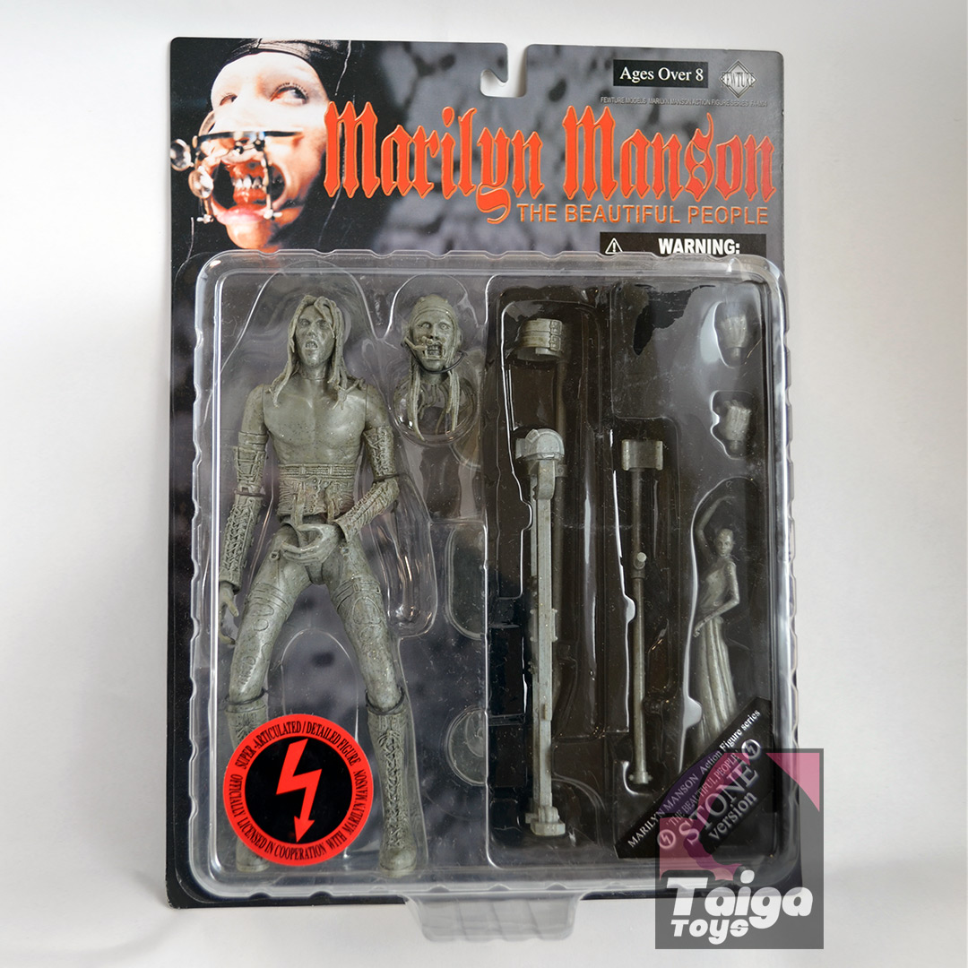 Marilyn Manson Beautiful People Figure Stone Version Package