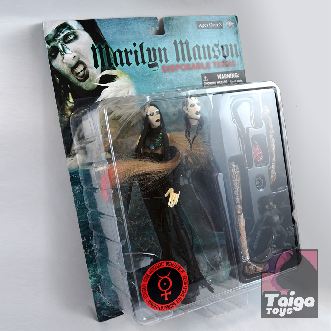 Marilyn Manson Action Figure Disposable Teens Taiga Toys
