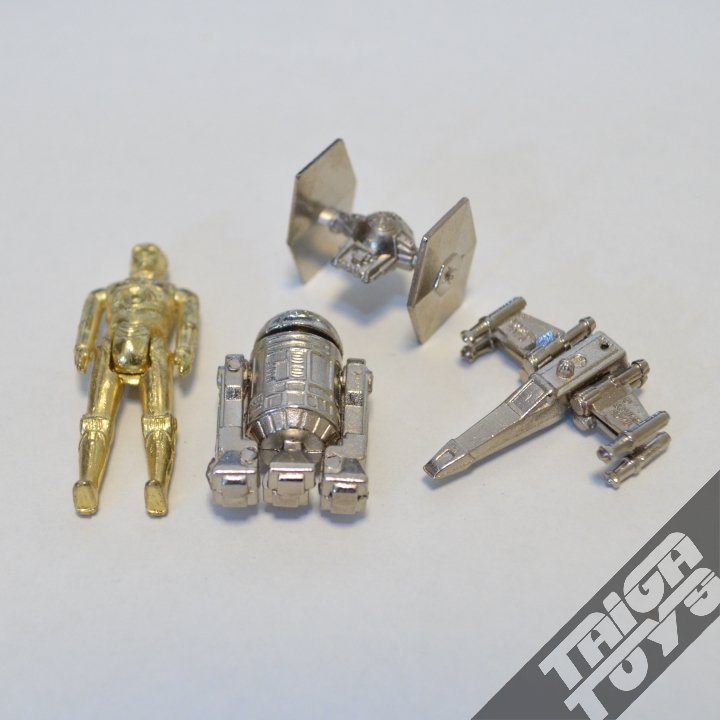 Star Wars Vintage Toys : Vintage star wars japan gacha set of taiga toys